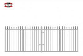 Bi-Fold Gates Short