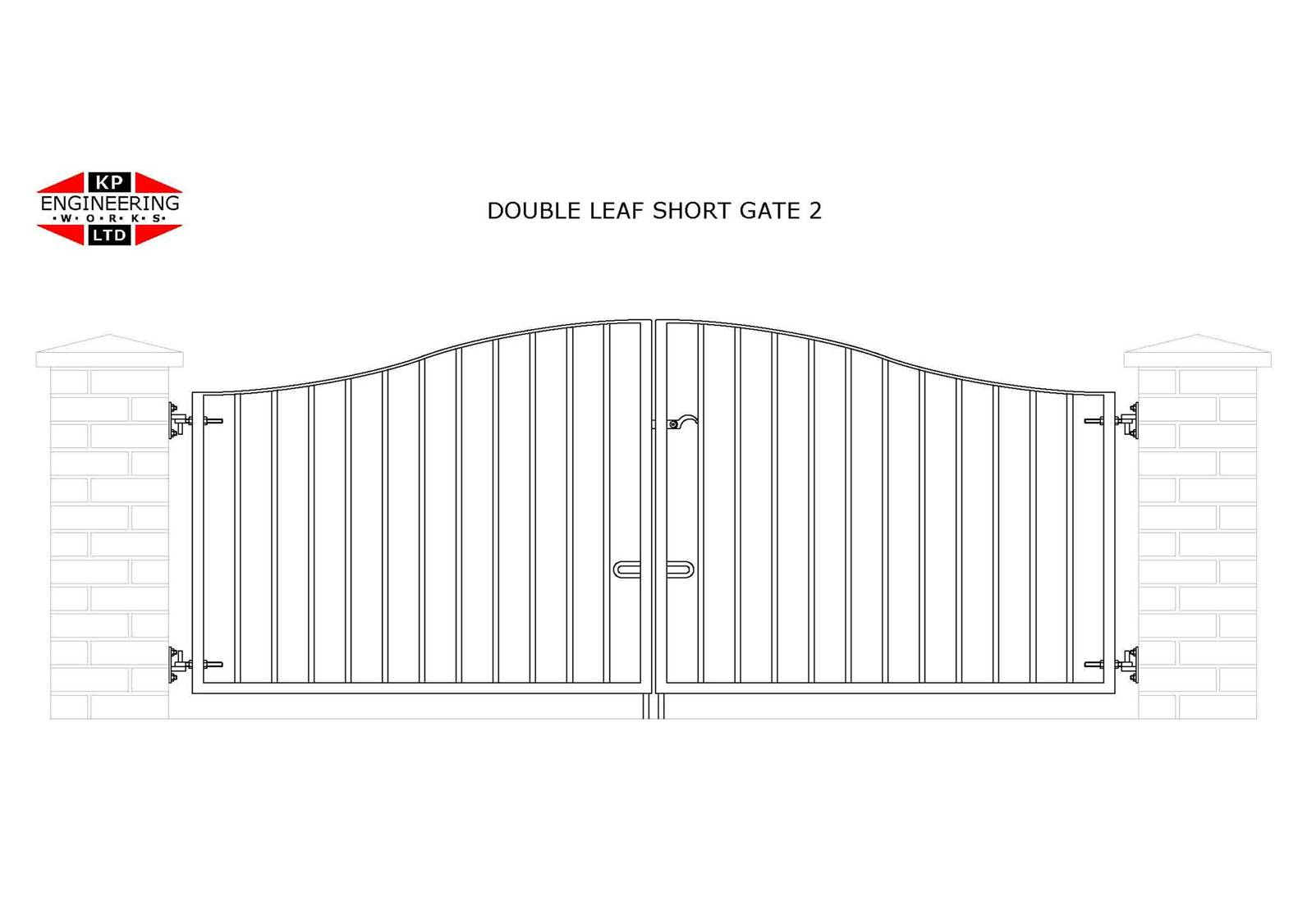 Double Leaf Short Gates Welcome To Kpengineering