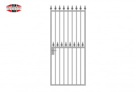 Single Leaf Tall Gates