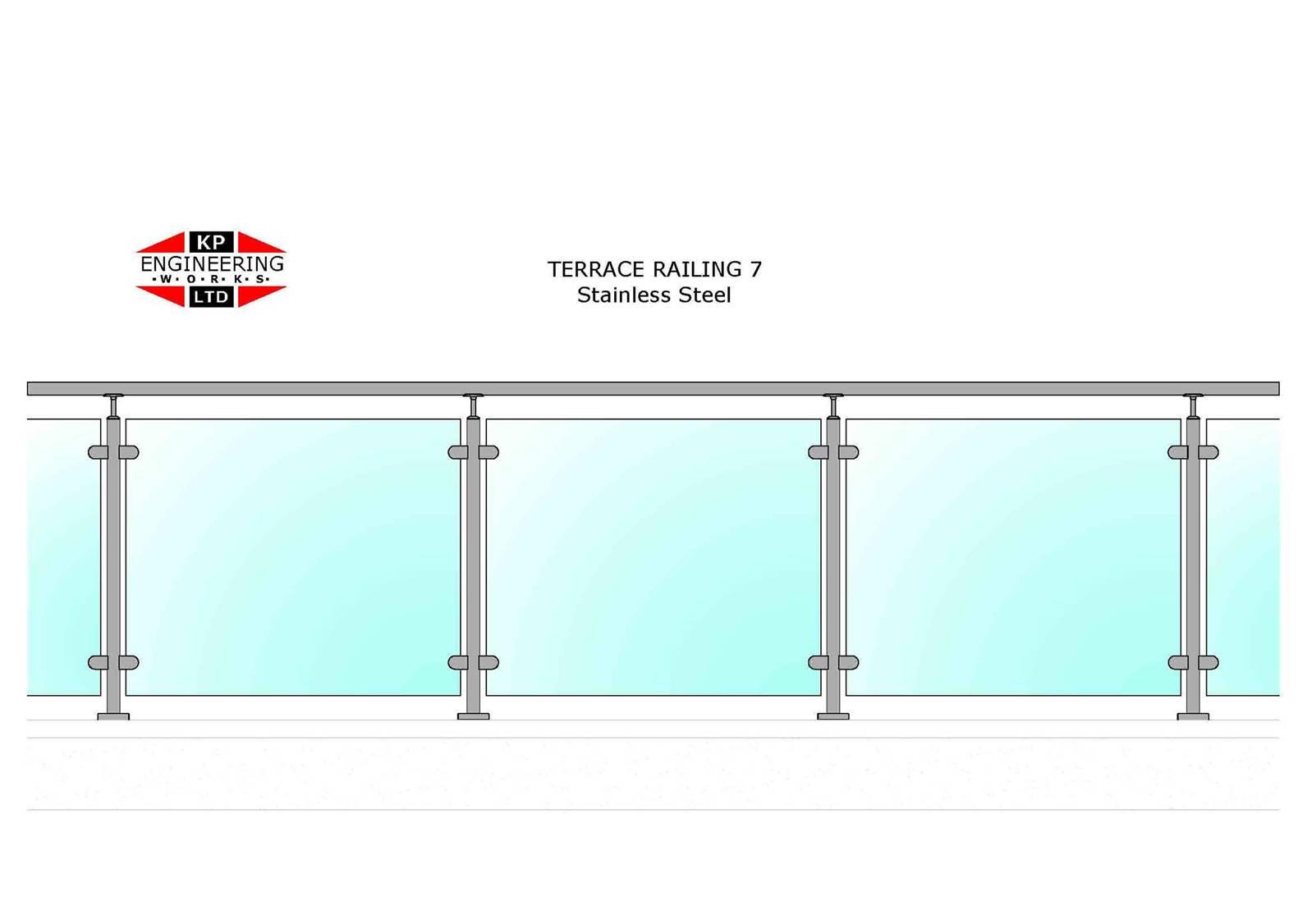 Terrace railings welcome to kpengineering for Terrace railing