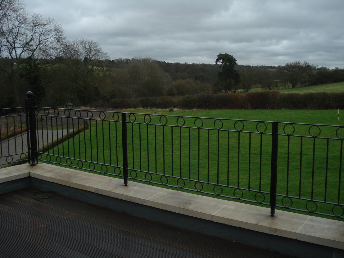 Terrace railings welcome to kpengineering for Terrace homepage