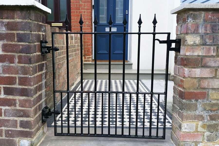 iron railings and metal garden gates for Sutton