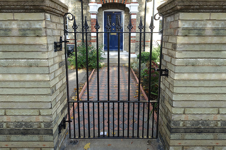 Iron Railings and Gates in East Finchley District