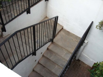 Handrails For Stairs Stair, Outdoor Wooden Handrails For Concrete Steps Uk