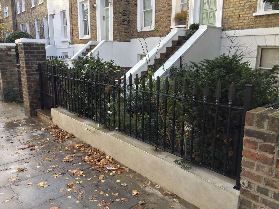 Highgate iron railings and gates
