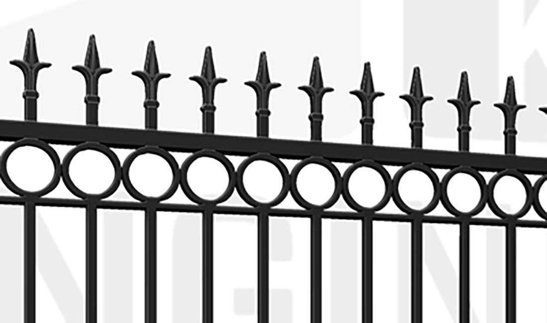 BRIXTON Wall Driveway Gate