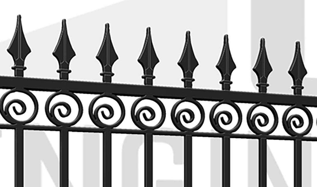 MAYFAIR Driveway Gate