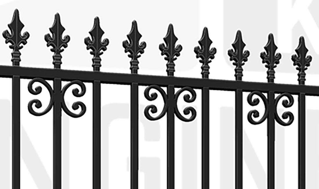 BLOOMSBURY Driveway Gate