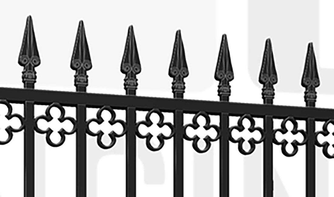 LITTLE VENICE Driveway Gate