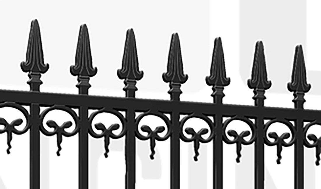 BANKSIDE Driveway Gate