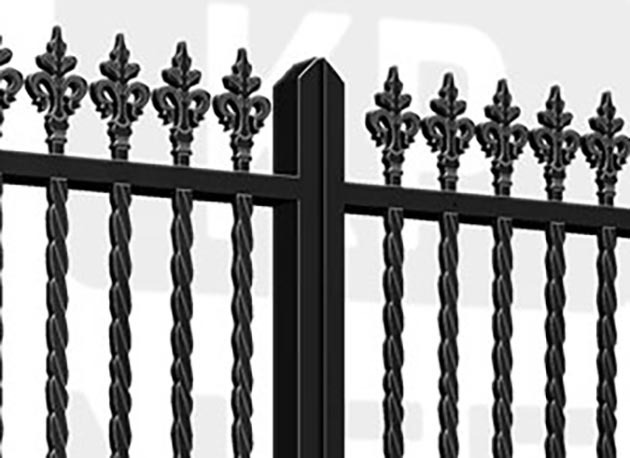 KING'S CROSS Estate Gate