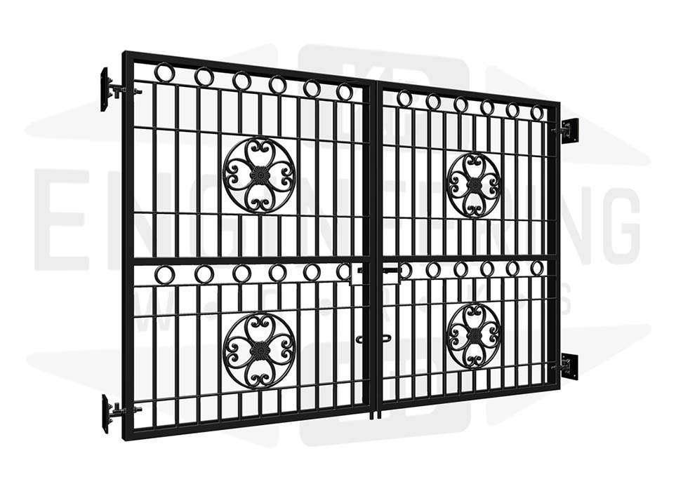 TWICKENAM Double Side Gate