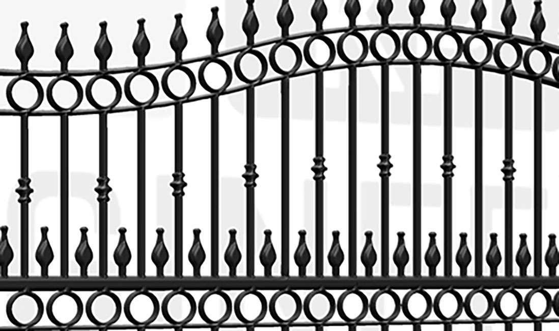 PADDINGTON Sliding Tall Gate