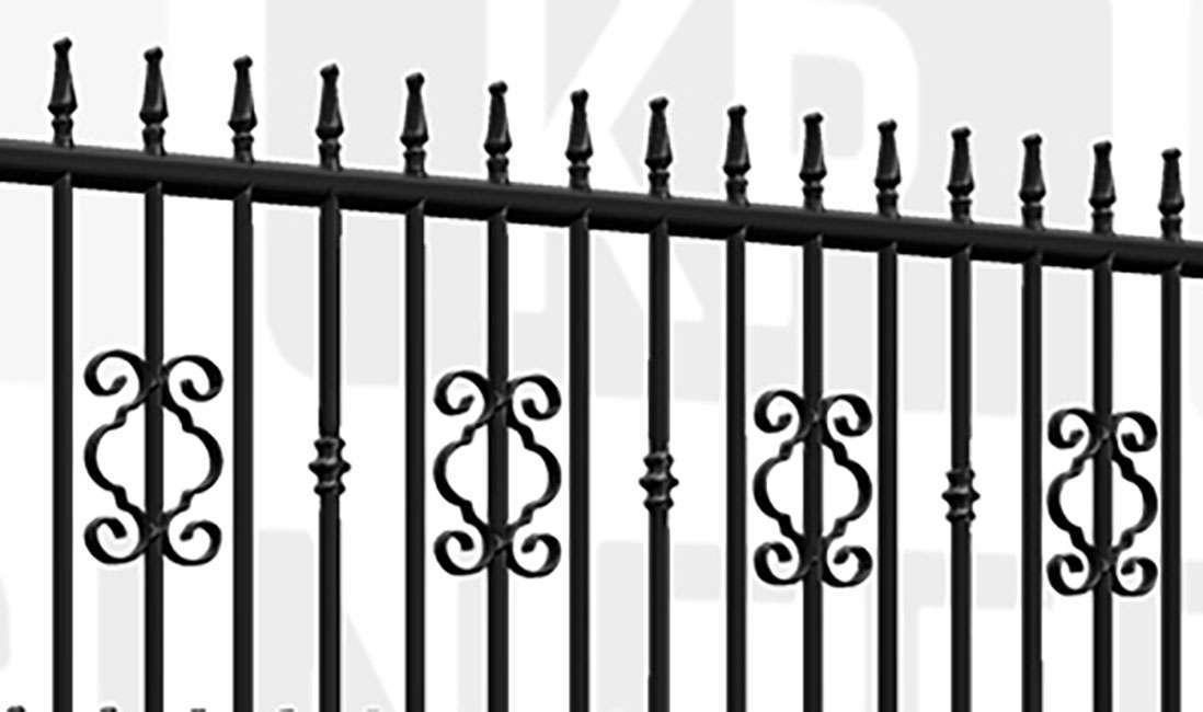 REGENT'S PARK Sliding Tall Gate