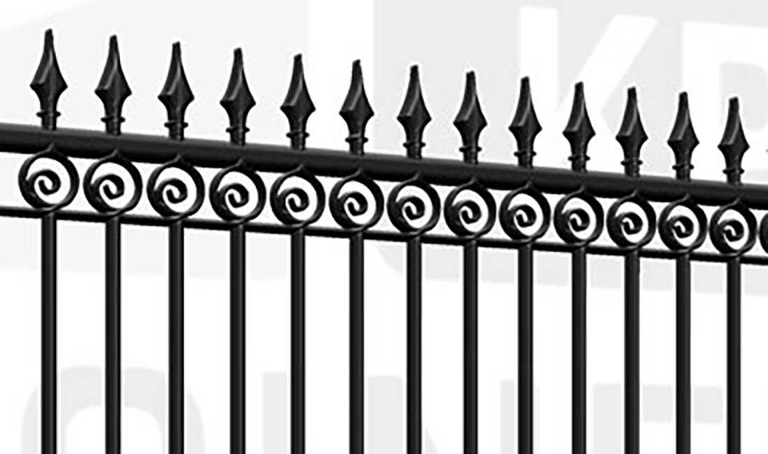 MAYFAIR Sliding Tall Gate