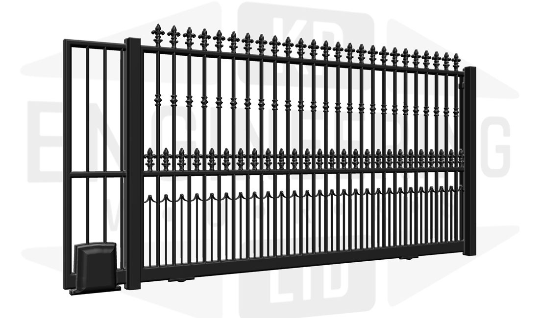 KILBURN Sliding Tall Gate