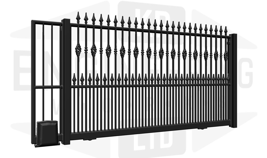 BELGRAVIA Sliding Tall Gate