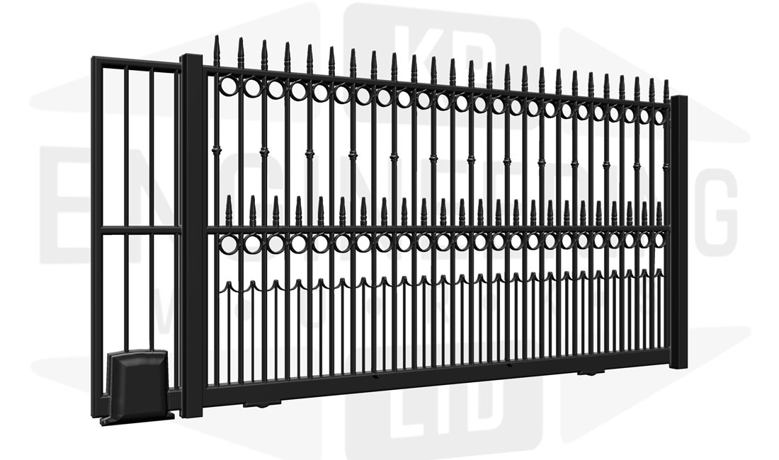 KENSINGTON Sliding Tall Gate