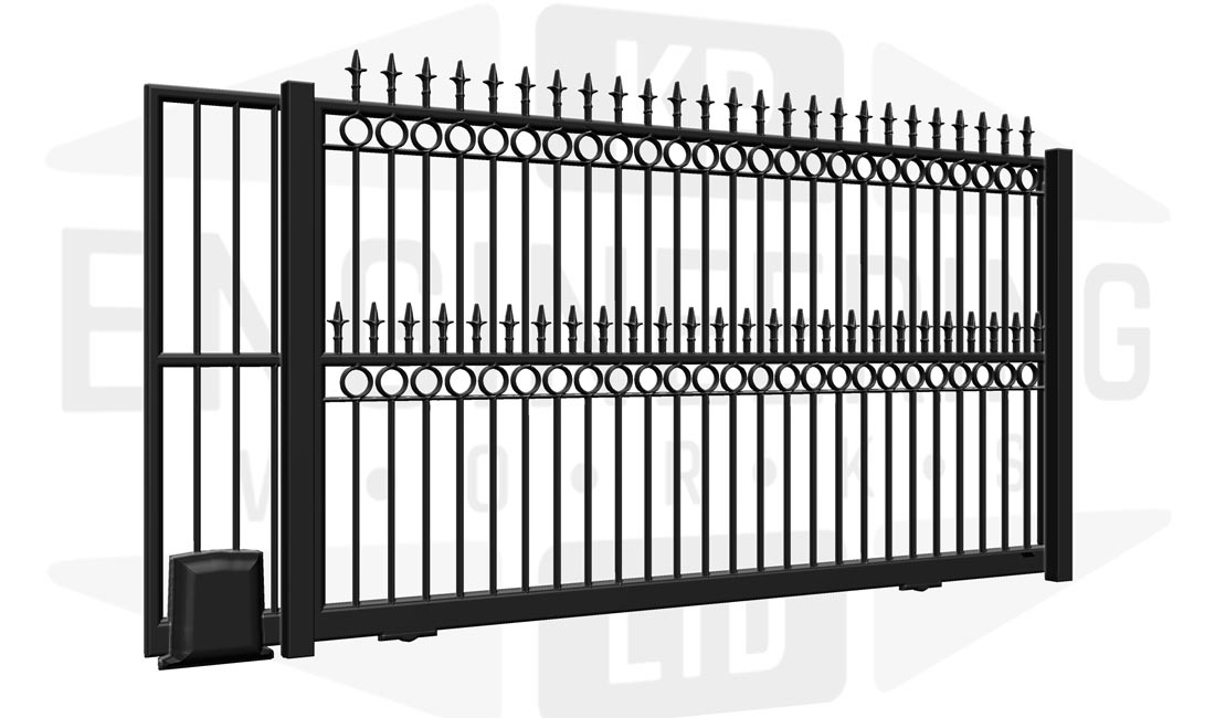 BRIXTON Wall Sliding Tall Gate