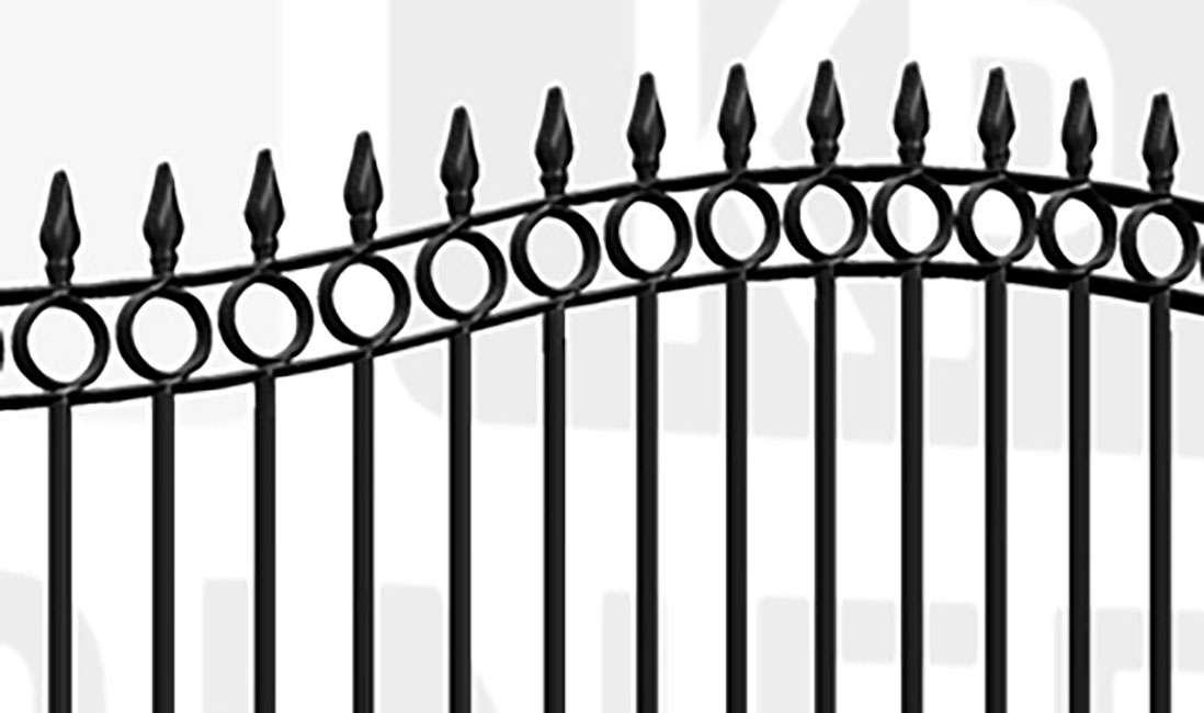 SHOREDITCH Sliding Tall Gate