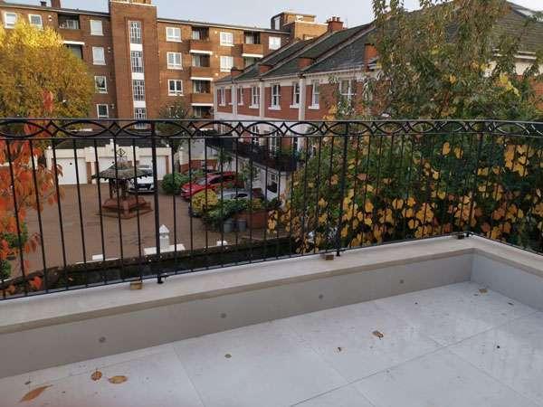 Southgate metal railings and gates