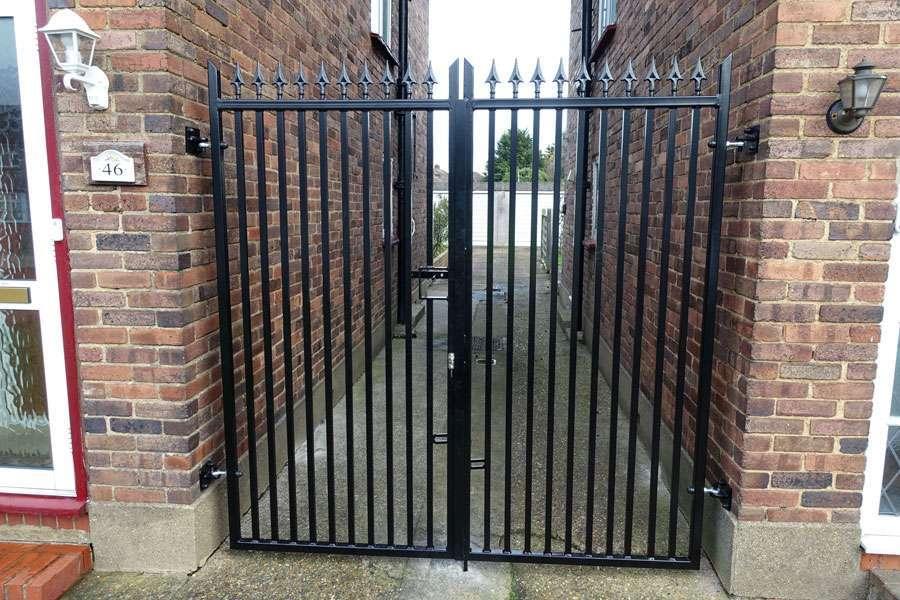 metal estate gate