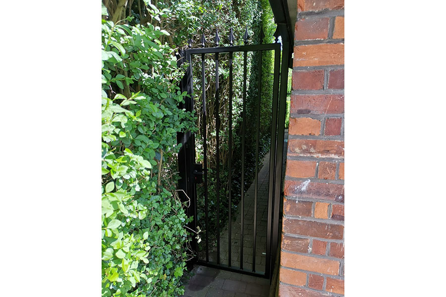 gates and iron railings