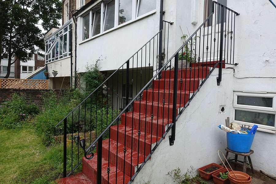 Terrace Stair Balustrade