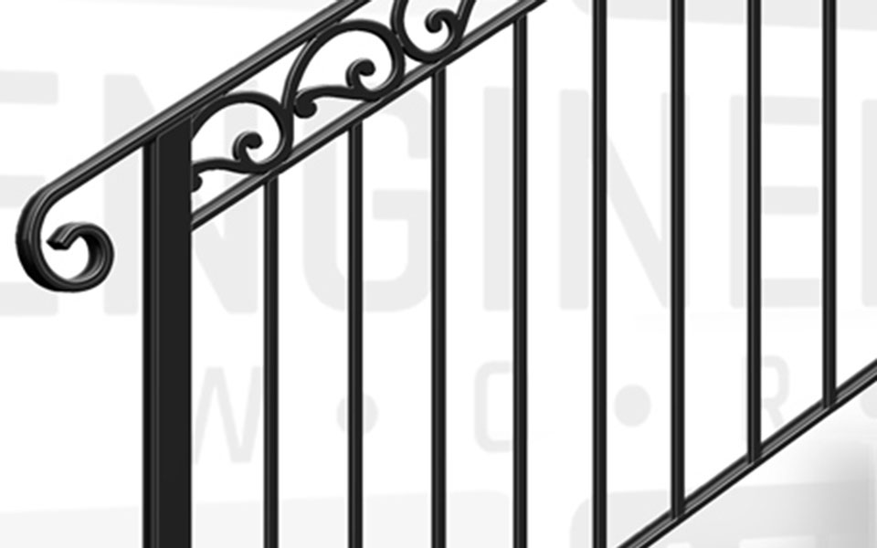MARYLEBONE Terrace Stair Balustrade