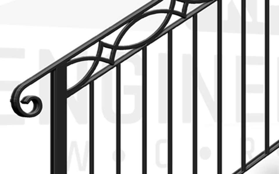 MAIDA VALE Terrace Stair Balustrade