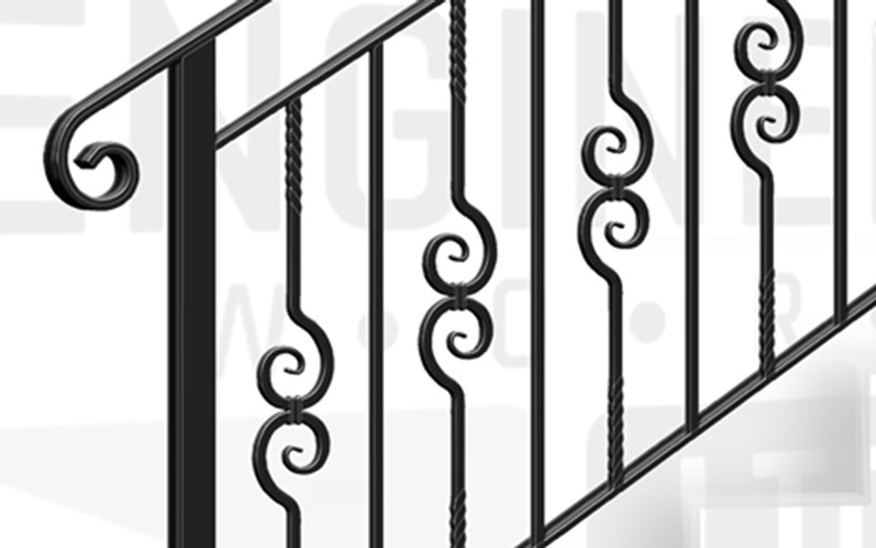 CHANCERY LANE Terrace Stair Balustrade
