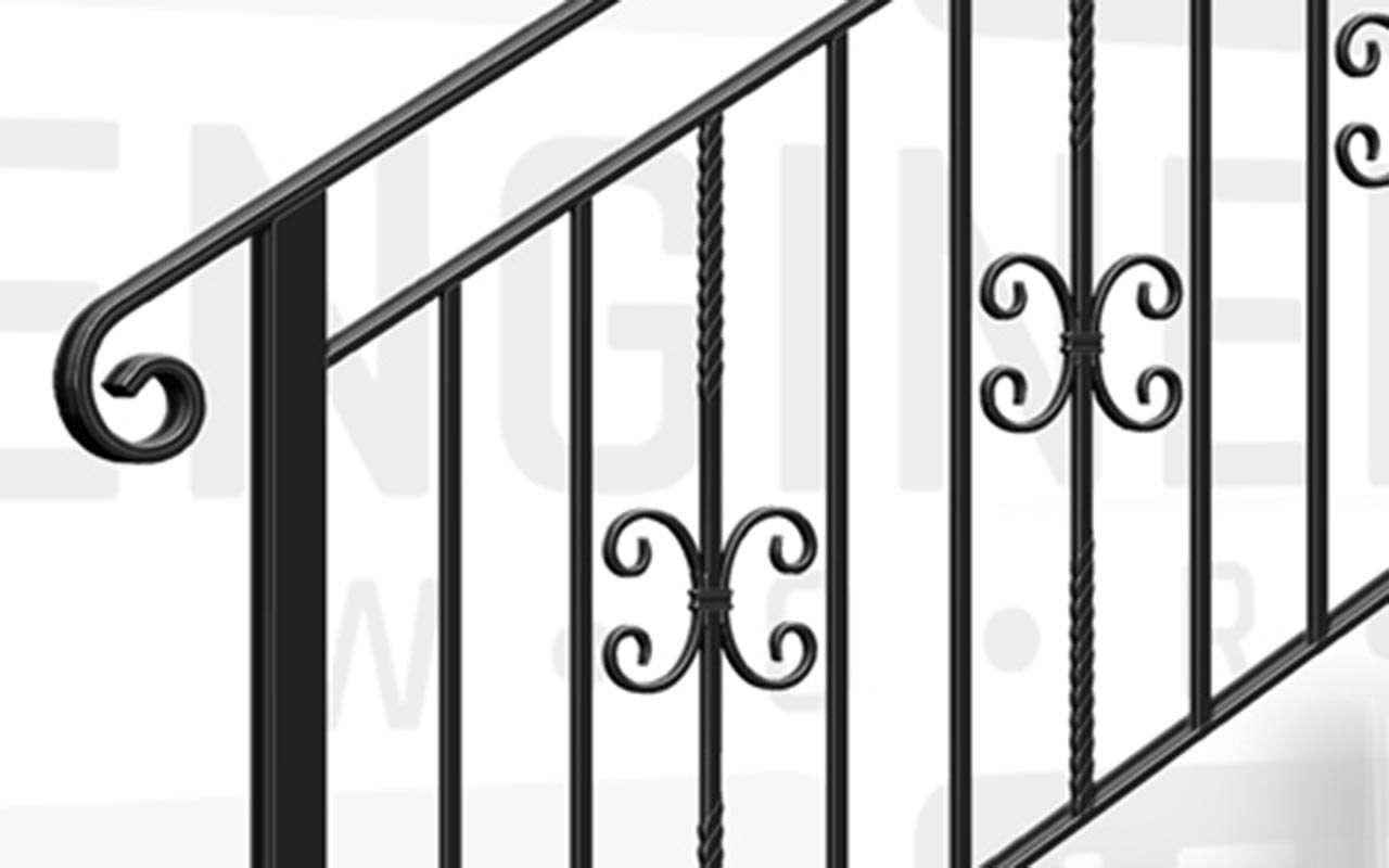 SLOANE SQUARE Terrace Stair Balustrade