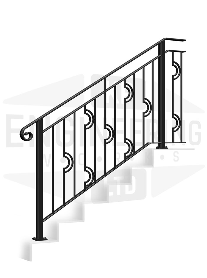 PUTNEY Terrace Stair Balustrade