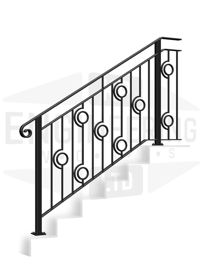 HARROW Terrace Stair Balustrade