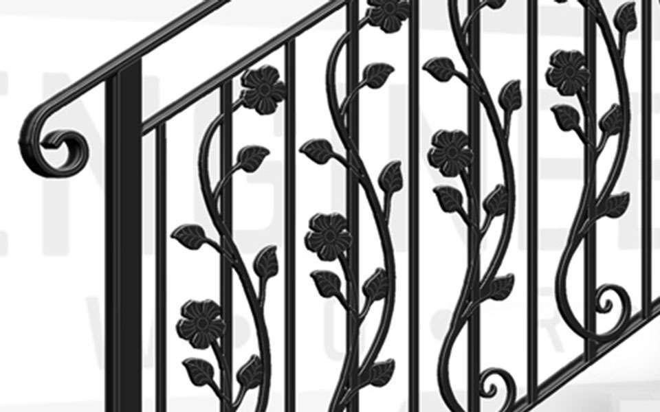 BOTANY BAY Terrace Stair Balustrade