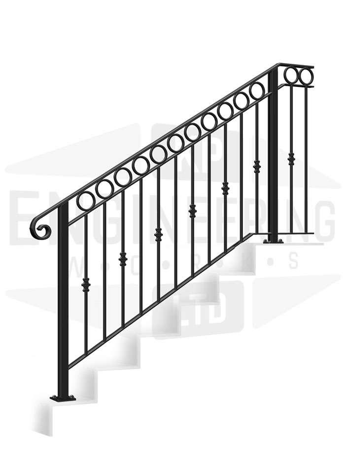 GREENWICH Terrace Stair Balustrade