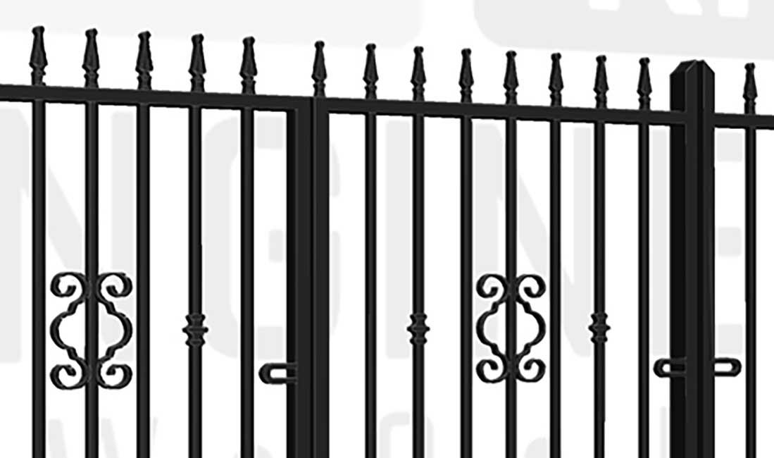 REGENT'S PARK Bi-Fold Short Gate