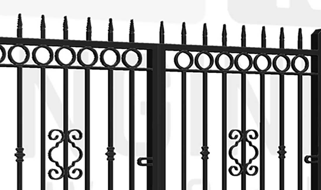 BELMONT Bi-Fold Short Gate