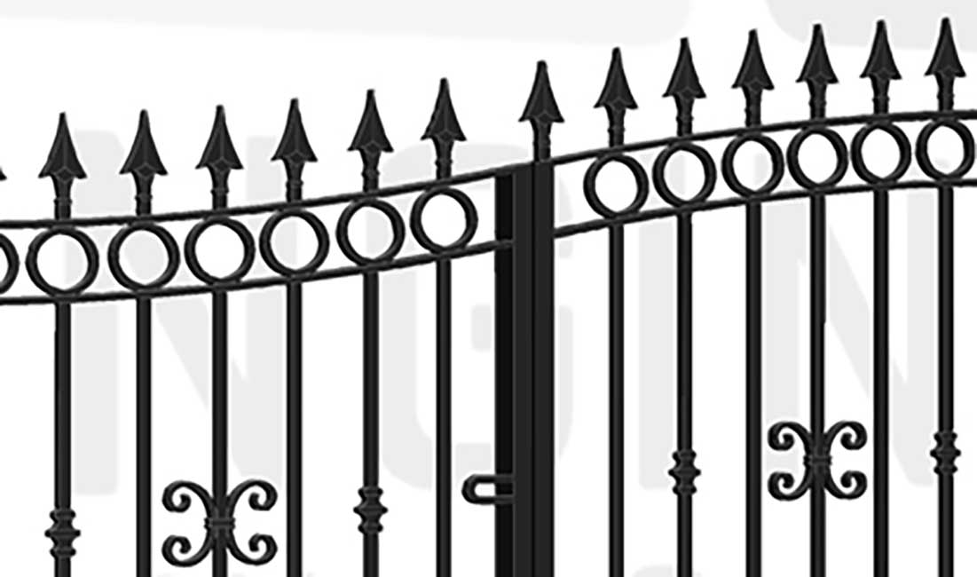 HYDE PARK Bi-Fold Short Gate
