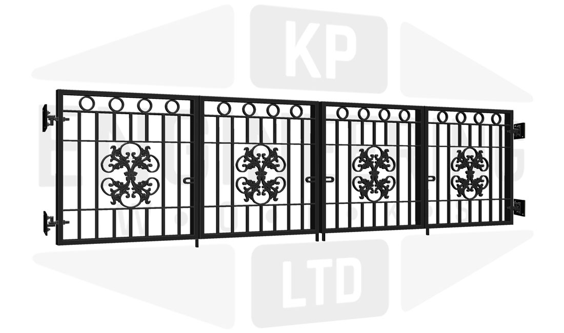 PARK ROYAL Bi-Fold Short Gate