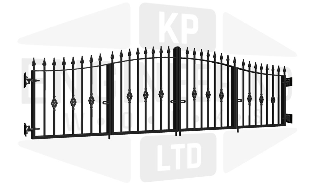 TEMPLE Bi-Fold Short Gate