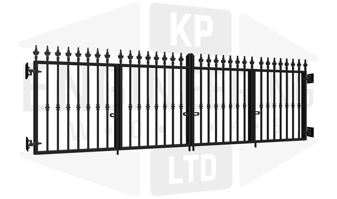 FULHAM Bi-Fold Short Gate