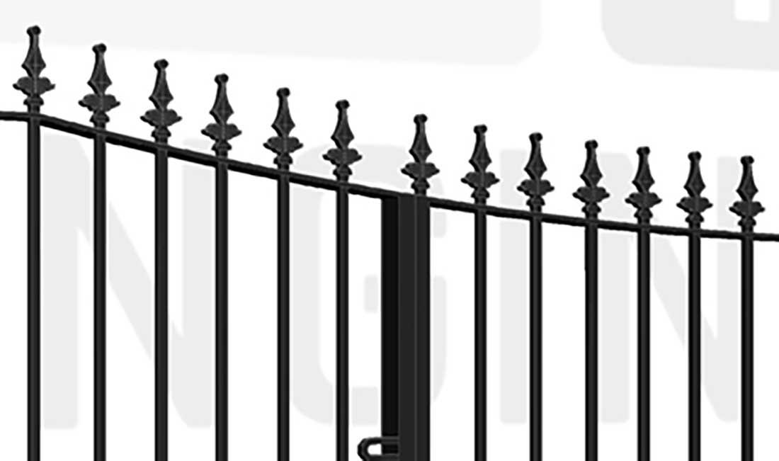 KEW Bi-Fold Short Gate