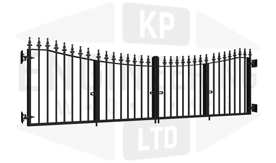 KEW Bi-Fold Short Gate