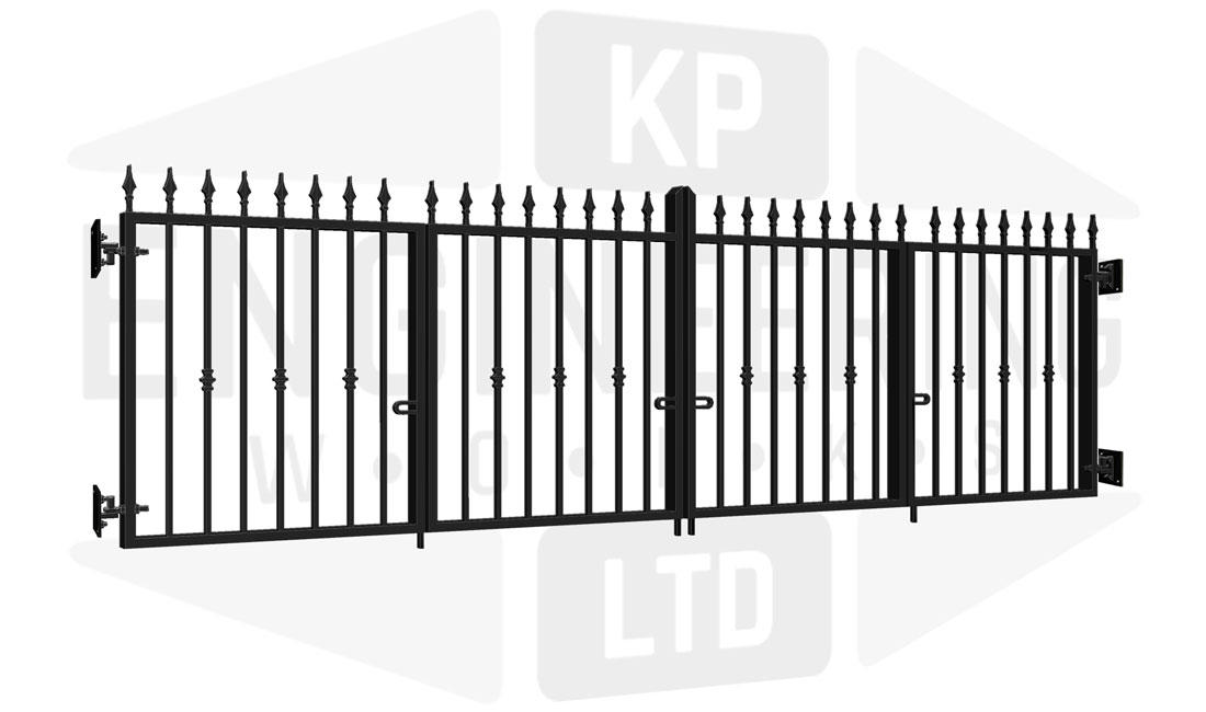 WHITECHAPEL Bi-Fold Short Gate