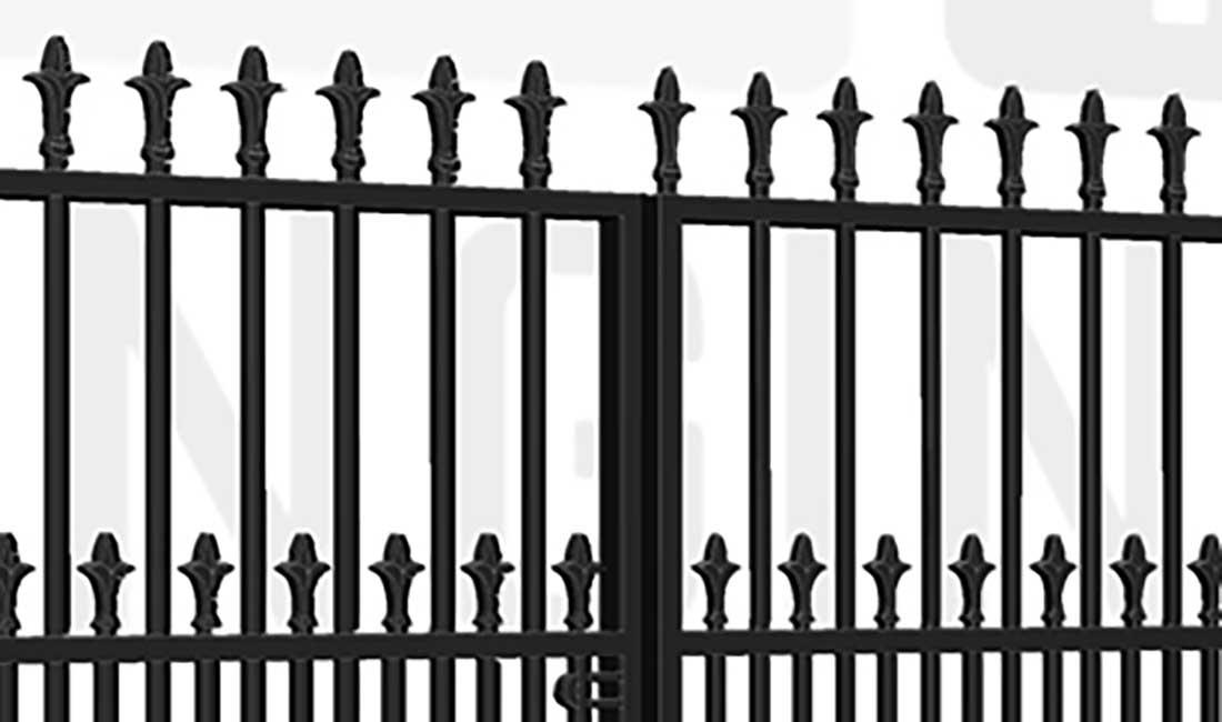 RICHMOND Bi-Fold Short Gate