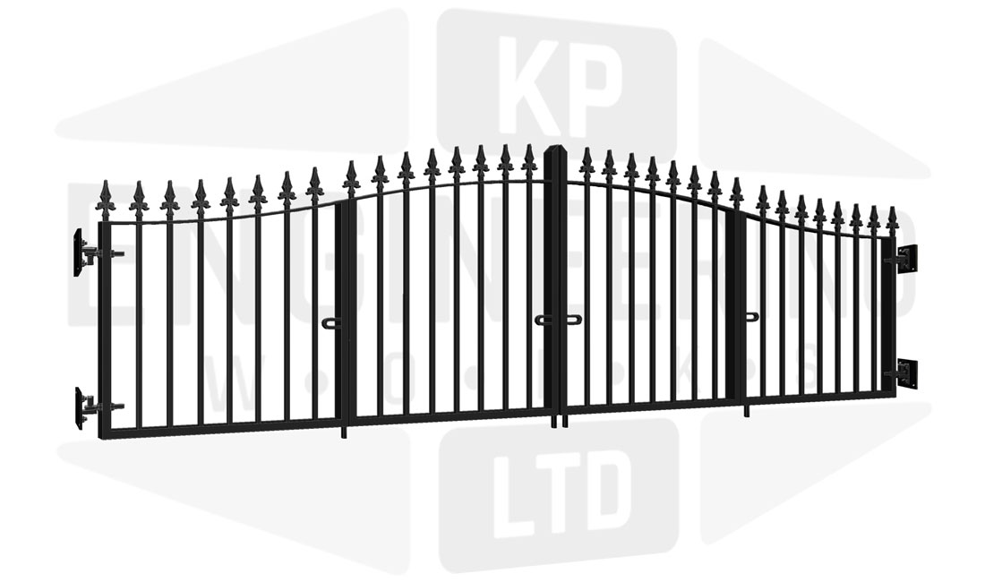 CAMBERWELL Bi-Fold Short Gate