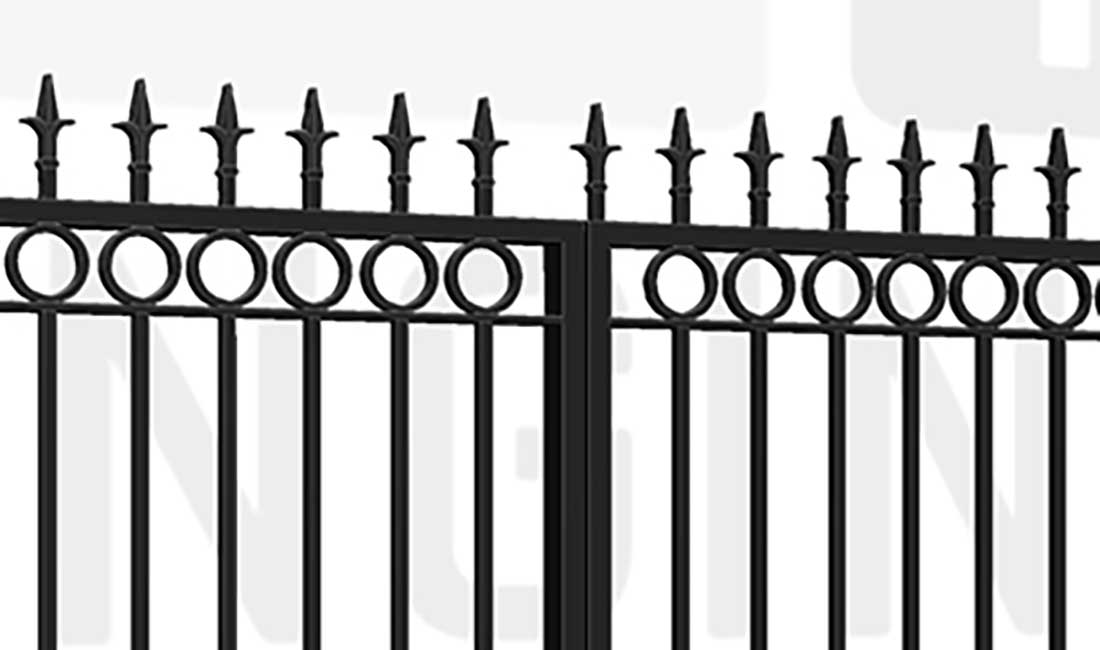 BRIXTON Wall Bi-Fold Short Gate