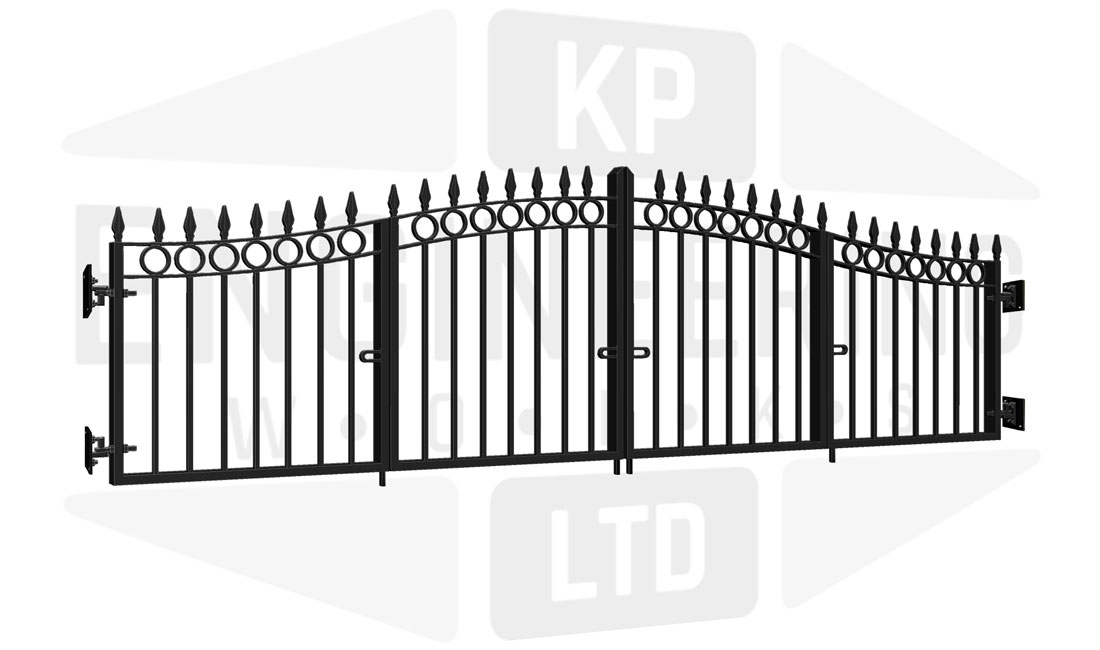 SHOREDITCH Bi-Fold Short Gate