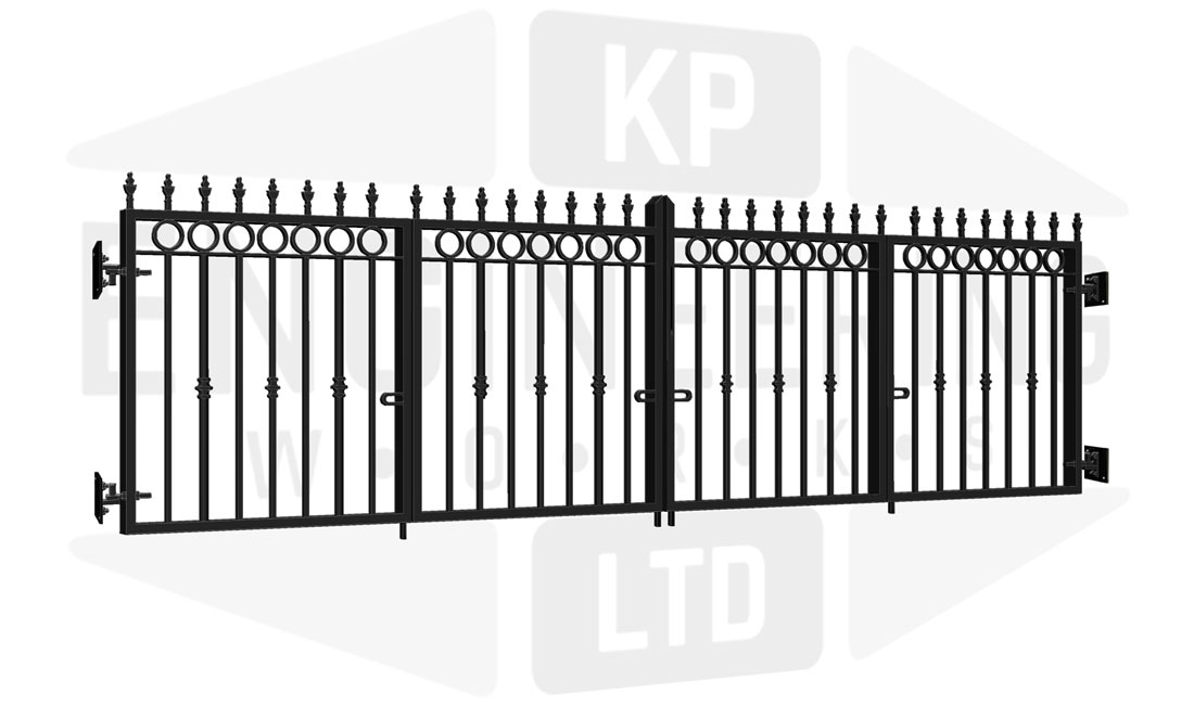 GREENWICH Bi-Fold Short Gate